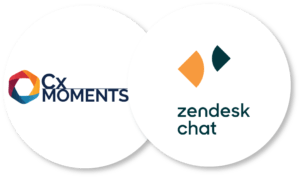 Zendesk Chat integrates seamlessly with Cx Moments   Intelligent insights into customer support conversations