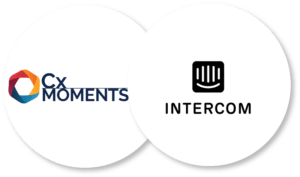 Cx Moments let you find insights from your Intercom integration instantly