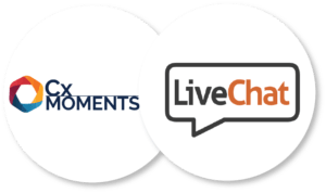 The Cx Moments Livechat integration gives you instant insights from customer support