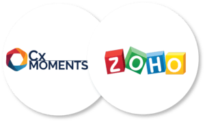 Integrate Cx Moments with Zoho to find insights into your customer support data